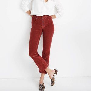 Madewell Corduroy  Cali Demi-Boot Jeans